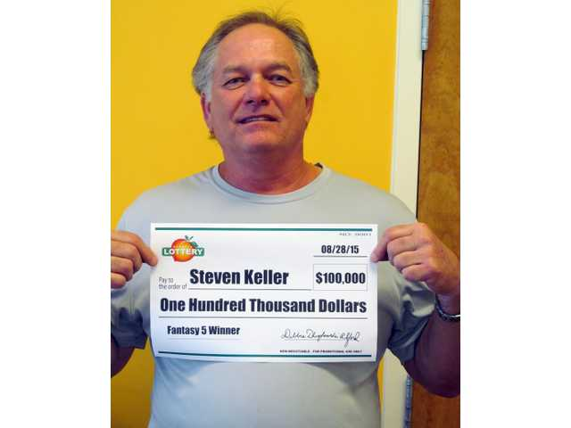 Midway man wins $100,000 from lottery