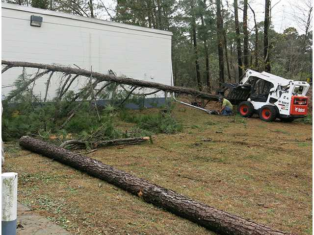 Storm knocks one business out