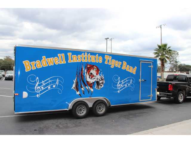 Bradwell band gets new equipment trailer