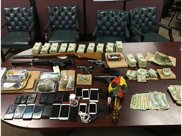 Nine arrested in alleged drug ring