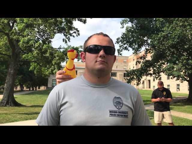 Have You Seen This? Police academy rubber chicken test