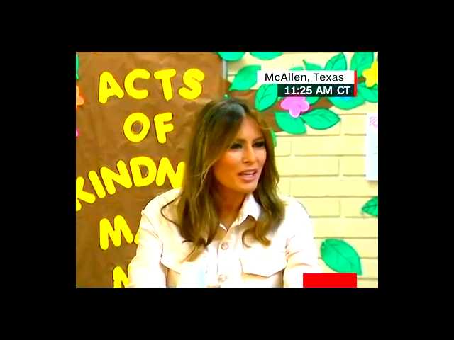 Melania Trump wore a jacket that read 'I really don't care. Do u?' on the way to immigrant children