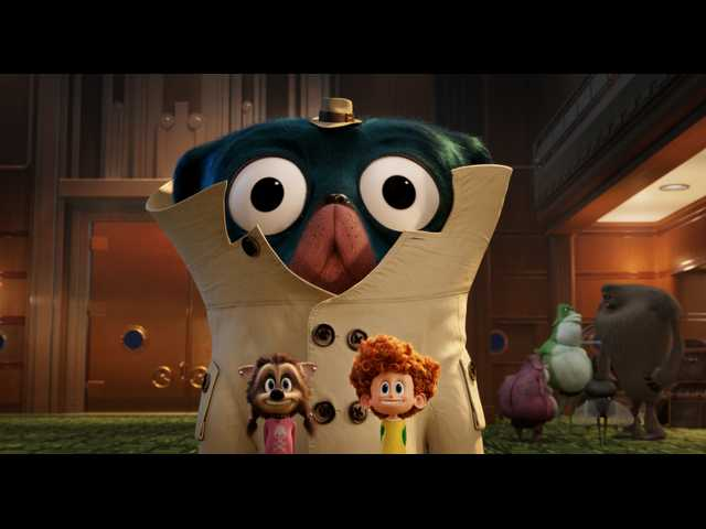 Mr Tinkles With Winnie And Dennis Asher Blinkoff In Hotel Transylvania 3