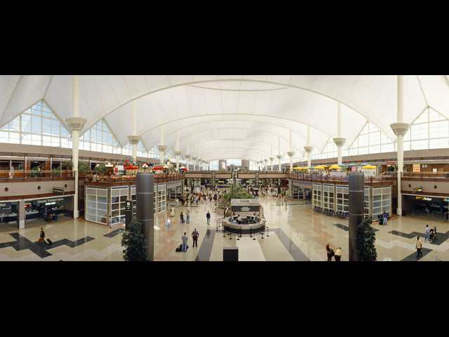 Denver's airport hopes to be a worldwide destination of its own