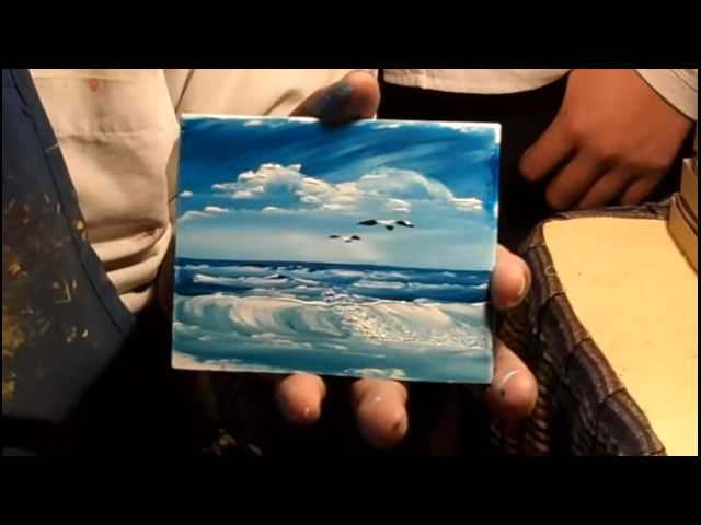 Have You Seen This? Speed finger painting