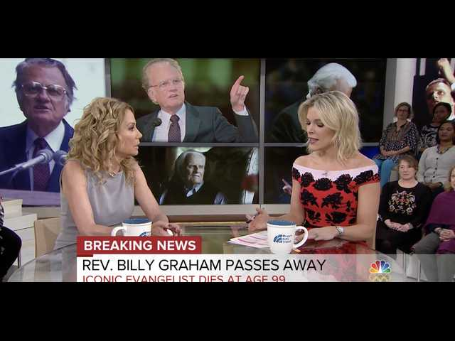 'Today Show' host Kathie Lee Gifford praises 'incredible' and 'humble' Billy Graham