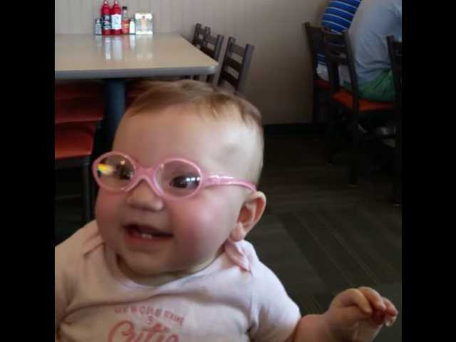 Video of baby seeing clearly for the first time goes viral