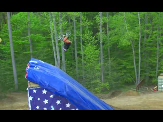 Have You Seen This? The first-ever BMX quad backflip