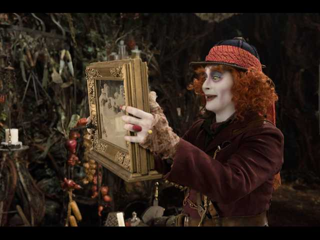 Movie review: 'Alice Through the Looking Glass' tries to cover its narrative flaws with visual spect