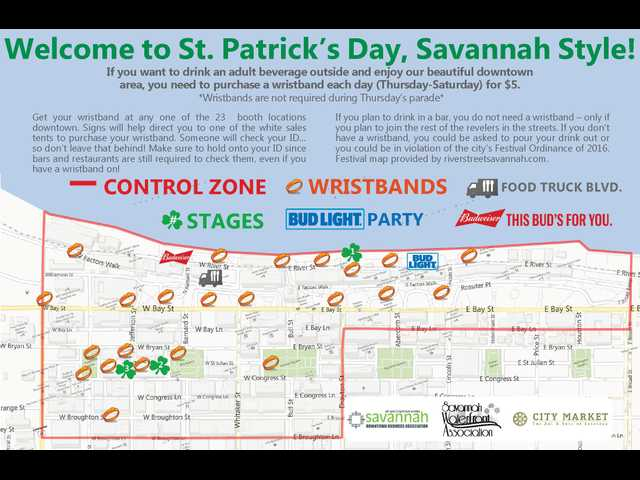 Celebrate St. Patrick's Day on River Street