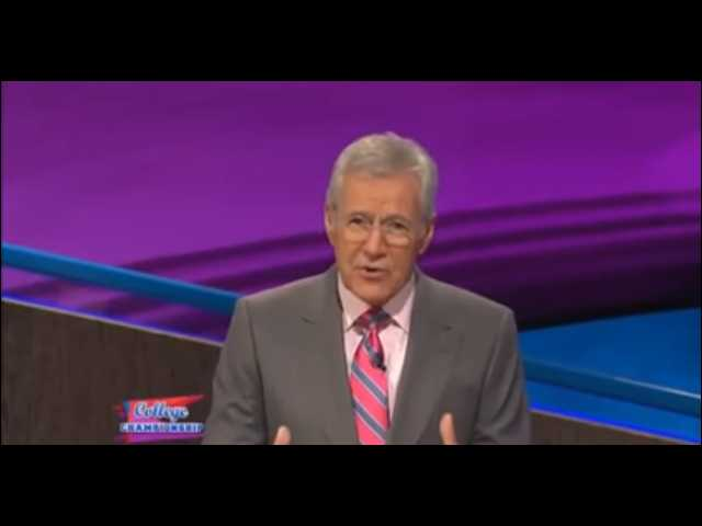 Have You Seen This? Alex Trebek is our favorite rapper