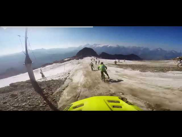 Have You Seen This? Insane glacial bike race