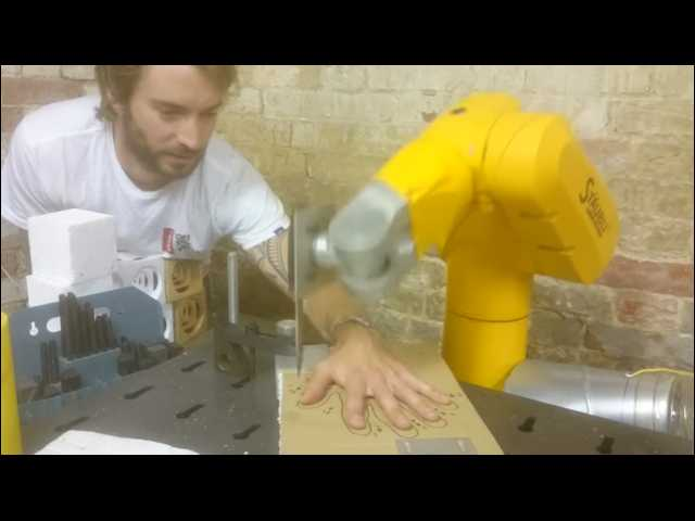 Have You Seen This? The robot knife game