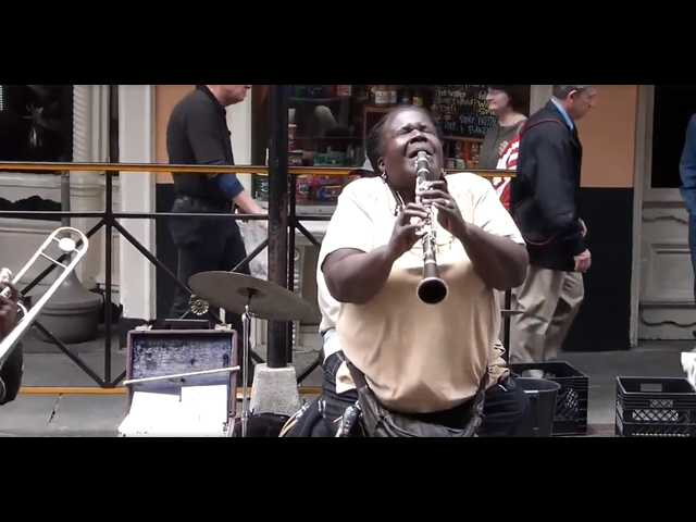 Have You Seen This? Street musician slays with clarinet