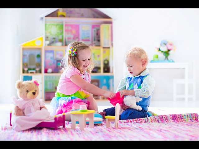 Why boys play with trucks and girls play with dolls