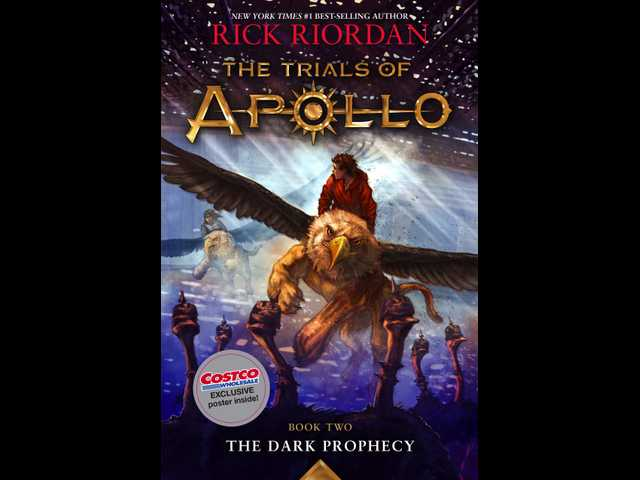 Here's where you can read the first chapter and see the cover for Rick Riordan's newest book