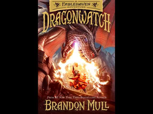 Book review: Mull's 'Dragonwatch' captivates with fantastical world, action