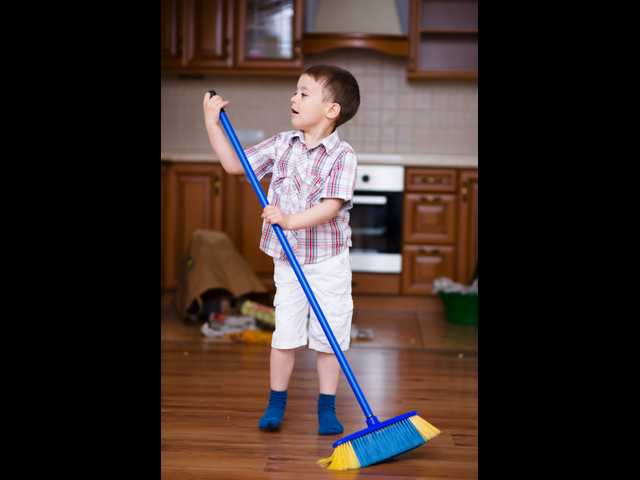 Mom's crusade to teach son, 6, to share household duties goes viral