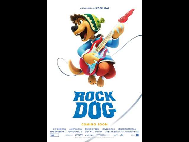 Mediocre 'Rock Dog' falls flat against its animated competition