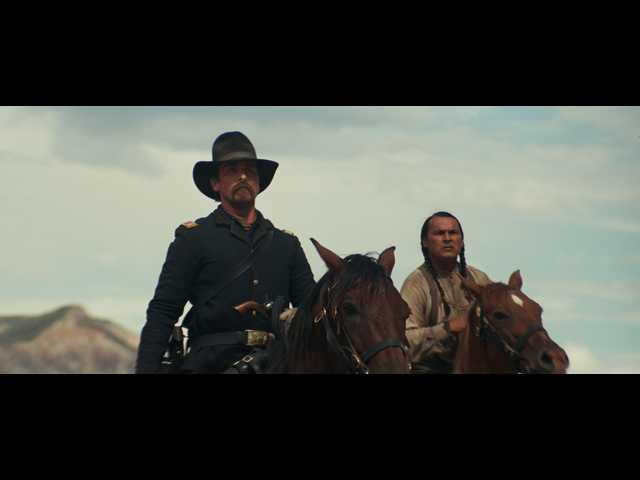 Movie review: Violent 'Hostiles' is a portrait of the end of the Old West