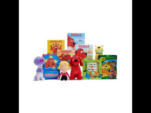 Kohl's Cares back-to-school collection features Clifford the Big Red Dog
