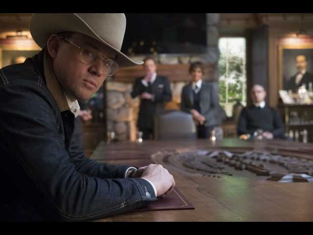 Kingsman sequel 'Golden Circle' starts strong but finishes flat