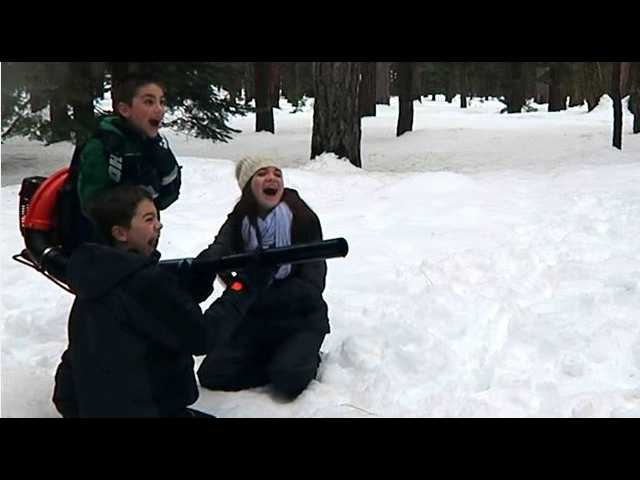 Have You Seen This? Uncle gets revenge on nephews with snowball machine gun