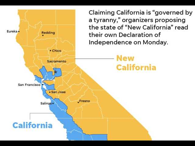 New California declares independence from California. Is a 51st state on the way?