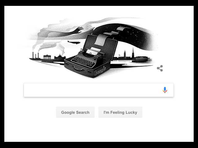 Who is Nelly Sachs? Google Doodle honors famous poet who escaped Nazi Germany