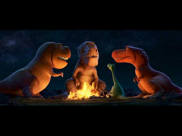 Alternate reality of 'The Good Dinosaur' is more curious than clever