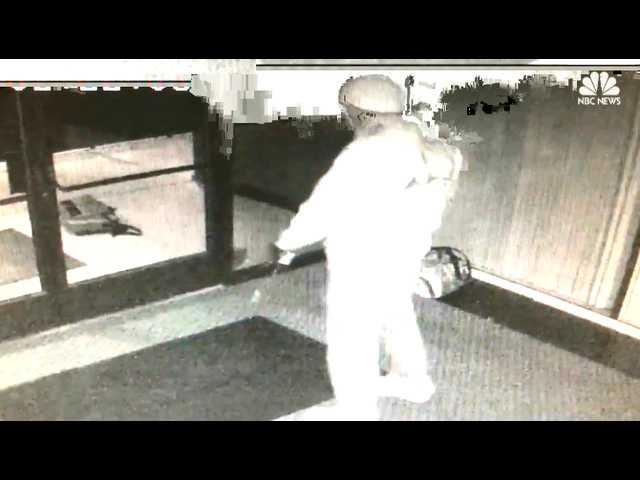 Have You Seen This? Burglary suspect breaks it down after breaking in