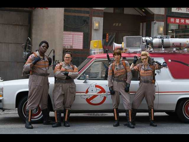 Our first look of the 2016 'Ghostbusters'