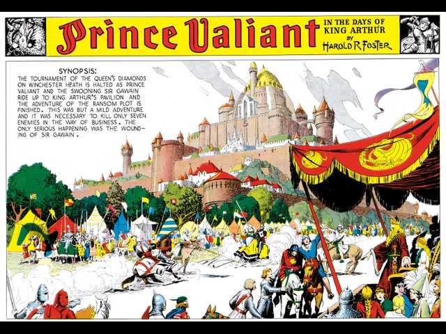Comics' sweeping graphic novel 'Prince Valiant' turns 80