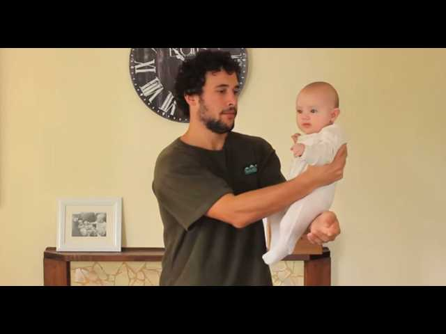 Have You Seen This? How to hold a baby