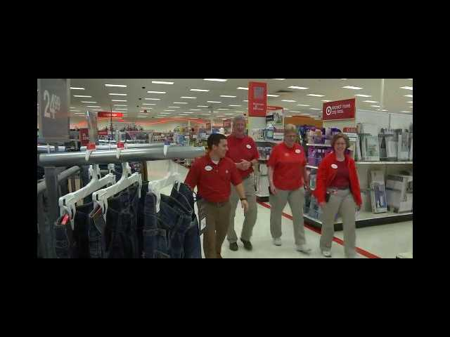 The Clean Cut: Target employees prep young man for job interview