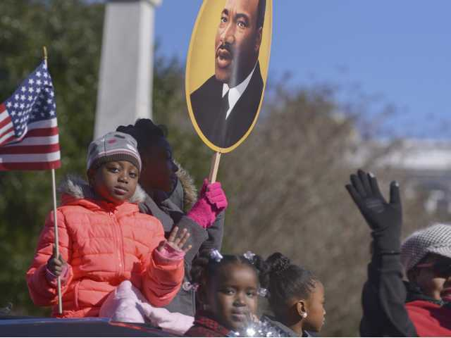 Annual Martin Luther King Jr. Parade draws large crowd