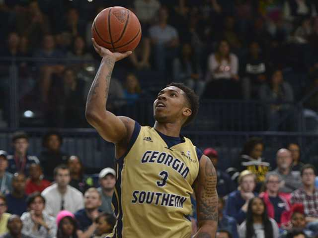 Georgia Southern's basketball team is ballin'