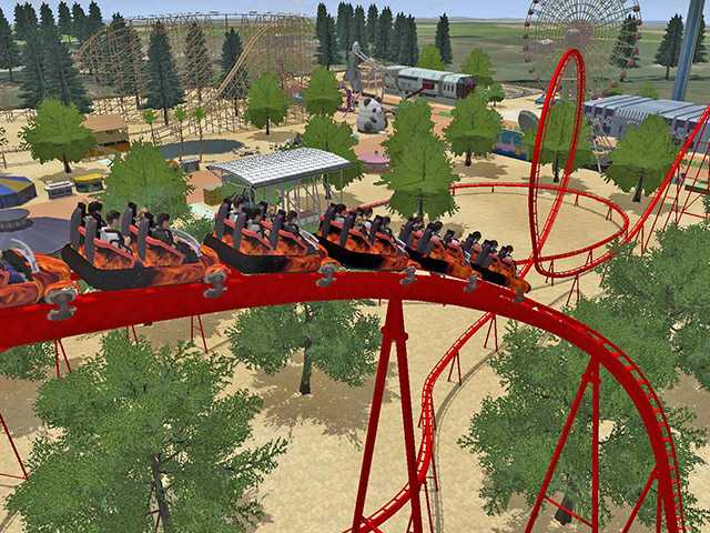 Virtual rollercoaster game worth the side effects