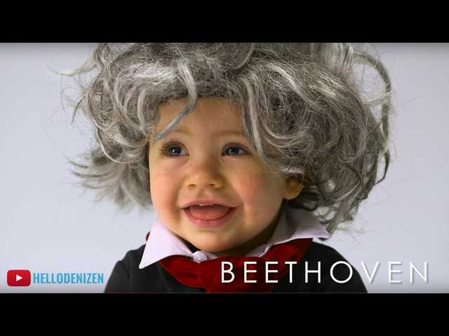 The Clean Cut: Babies dress up as famous 'old people' in a new YouTube video