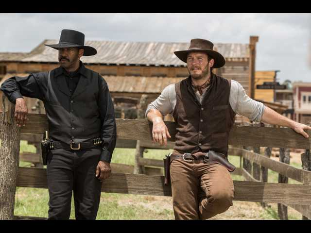 Fuqua's 'Magnificent Seven' is a violent 21st century remake of a 20th century classic
