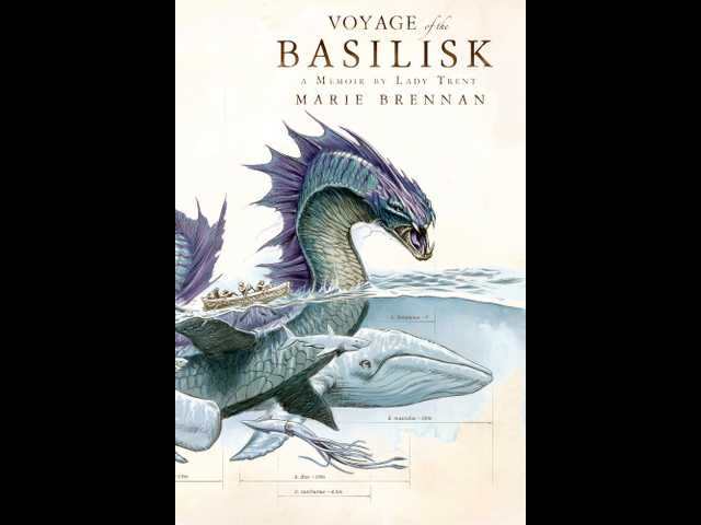 Book review: Lady Trent's search for dragons returns in 'Voyage of the Basilisk'