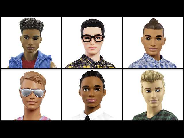 The newest line of Ken dolls come with 'dad-bods,' and 'man-buns'