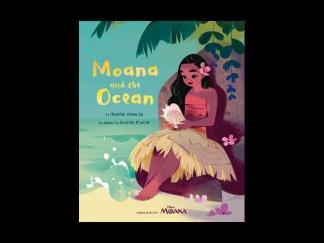 Disney's 'Moana' sails into bookstores