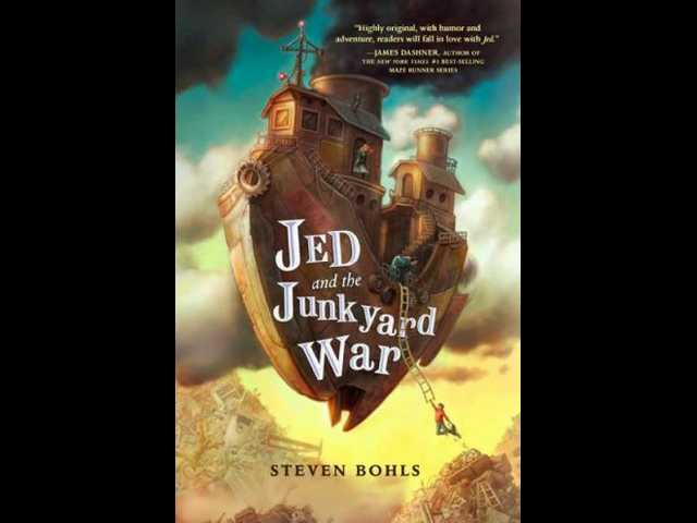 Book review: 'Jed and the Junkyard War' is fast-paced, junk-filled adventure