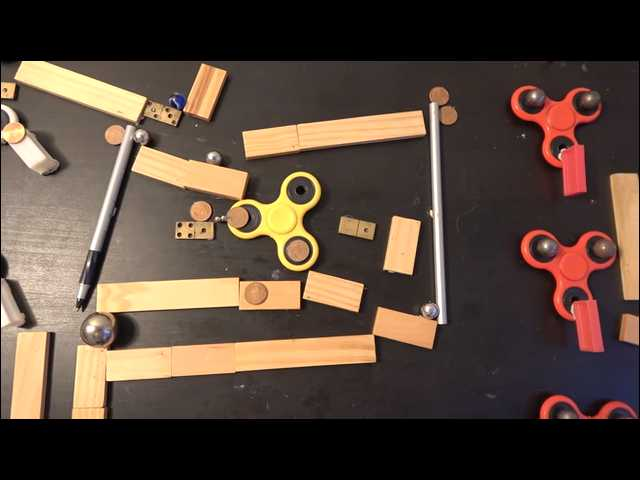 Have You Seen This? Ditching fidget spinner trend with Rube Goldberg