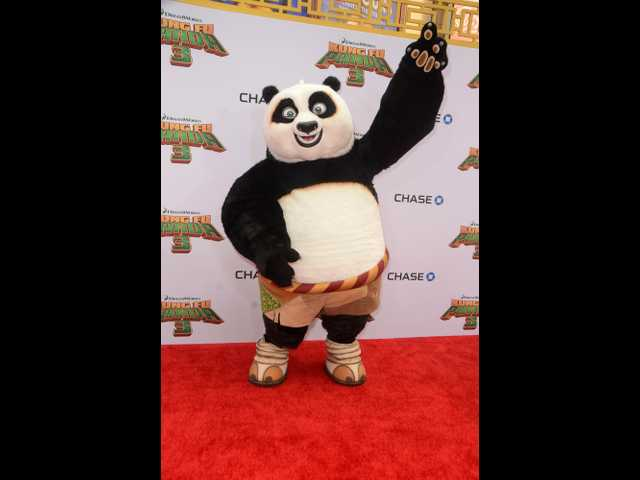'Kung Fu Panda 3' is your third doughnut