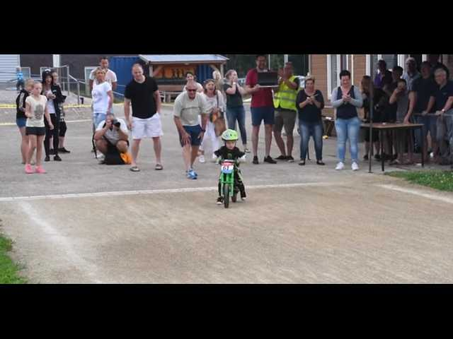 Have You Seen This? Toddler adorably misses finish line, would rather just ride bike