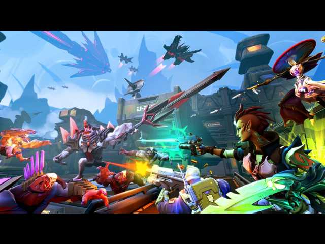 Back at it again with FPS in upcoming 'Battleborn'