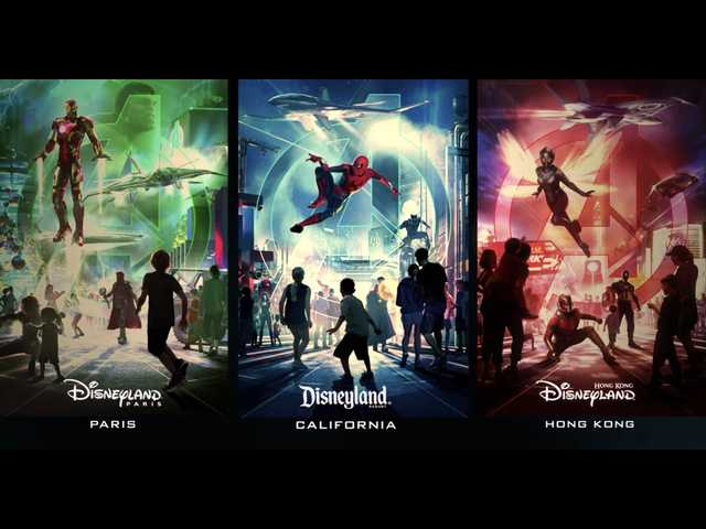 Disney announces new Avengers, Marvel theme parks; here's when they open