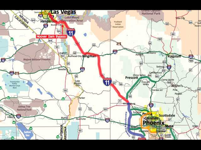 Have you heard of Interstate 11? It may impact your trips to Vegas and Phoenix
